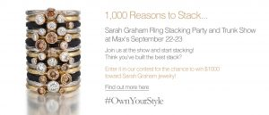 Own Your Own Style--Sarah Graham Jewelry--1000 Reasons to Stack