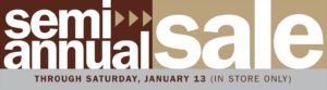 Great jewelry bargains at Max's Semi-Annual Sale