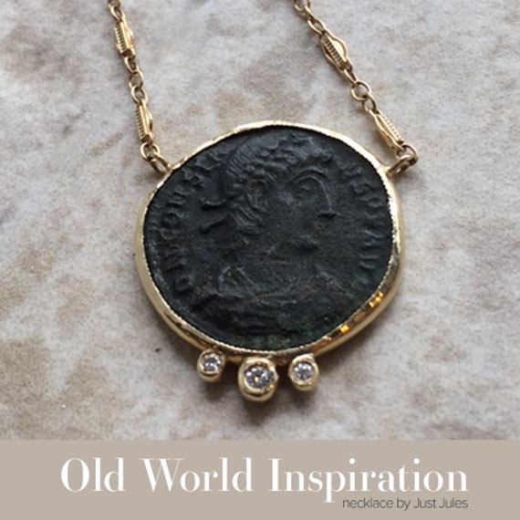 Old World Inspiration Jewelry by Just Jules