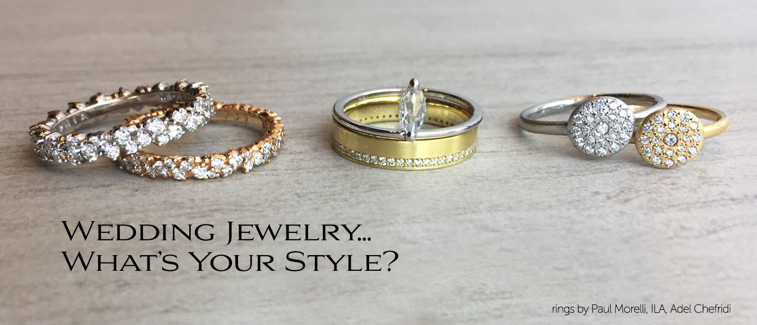 Handcrafted Wedding Jewelry--Engagement Rings and Wedding Bands